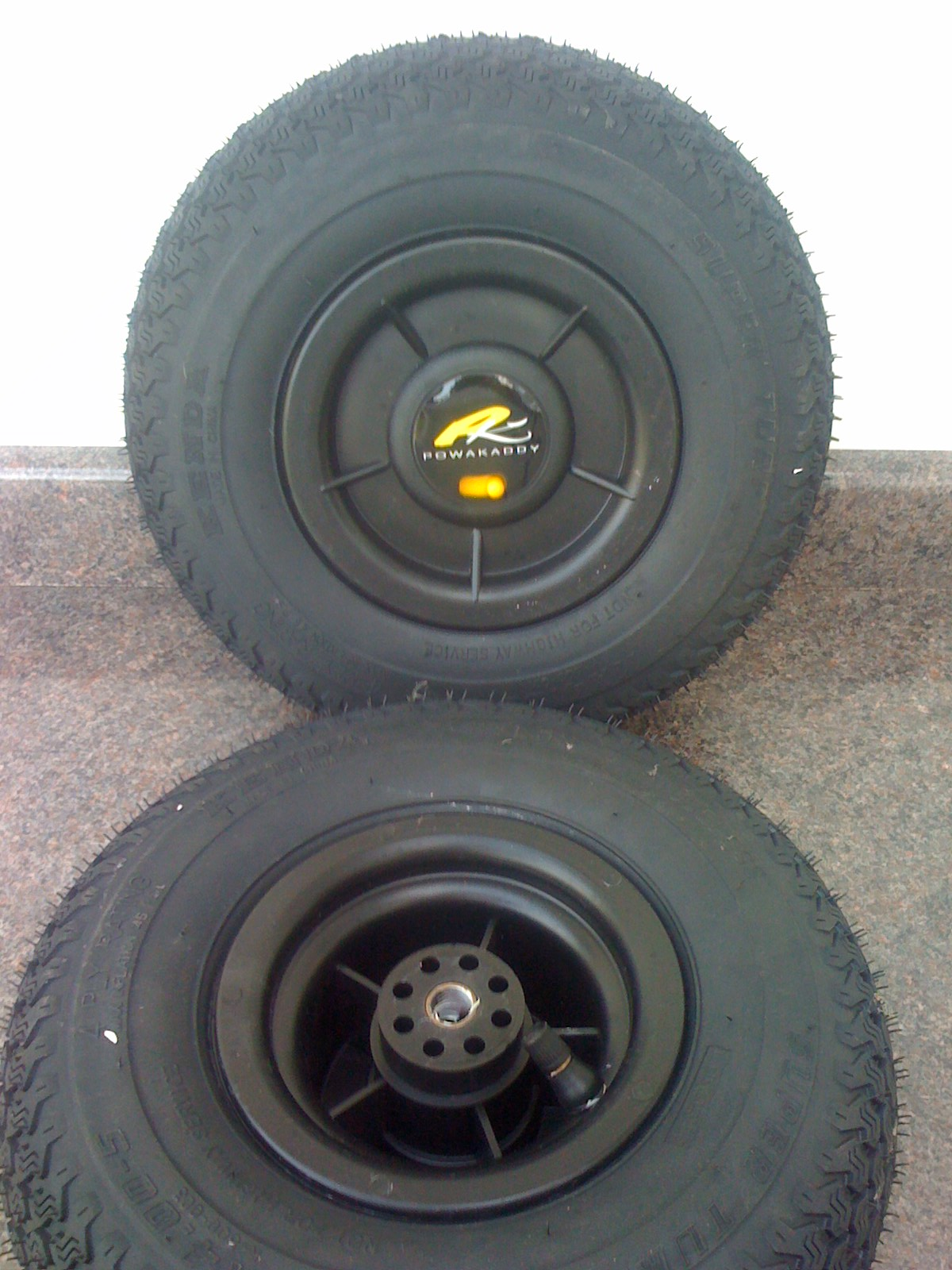 Air Wheel Suitable for Powakaddy Trolleys